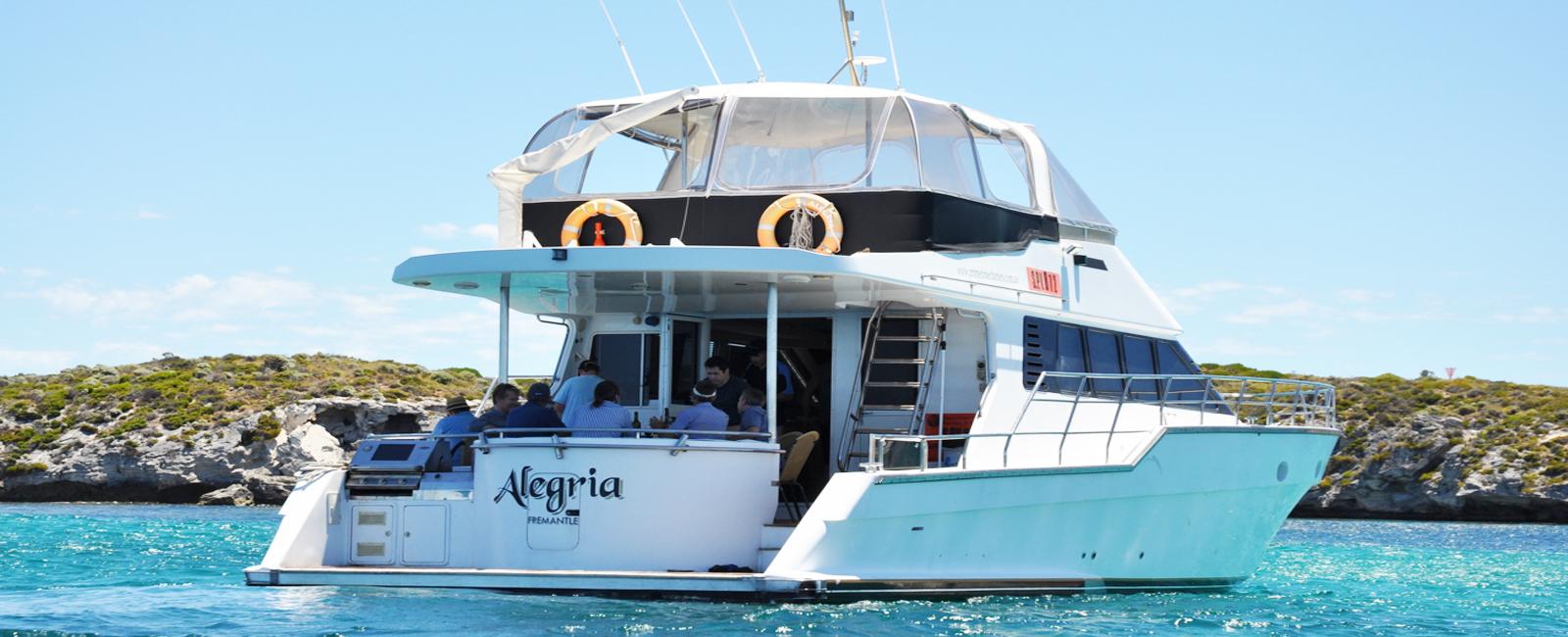 ALEGRIA-boat-charter-hire-Perth-WA-back-deck-
