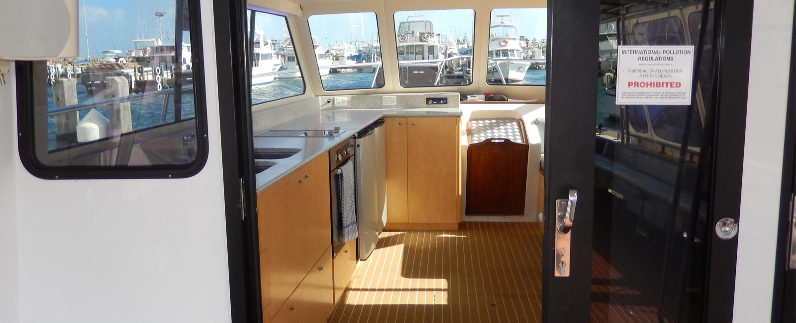 AQUARIUS-boat-charters-Perth-WA-kitchen