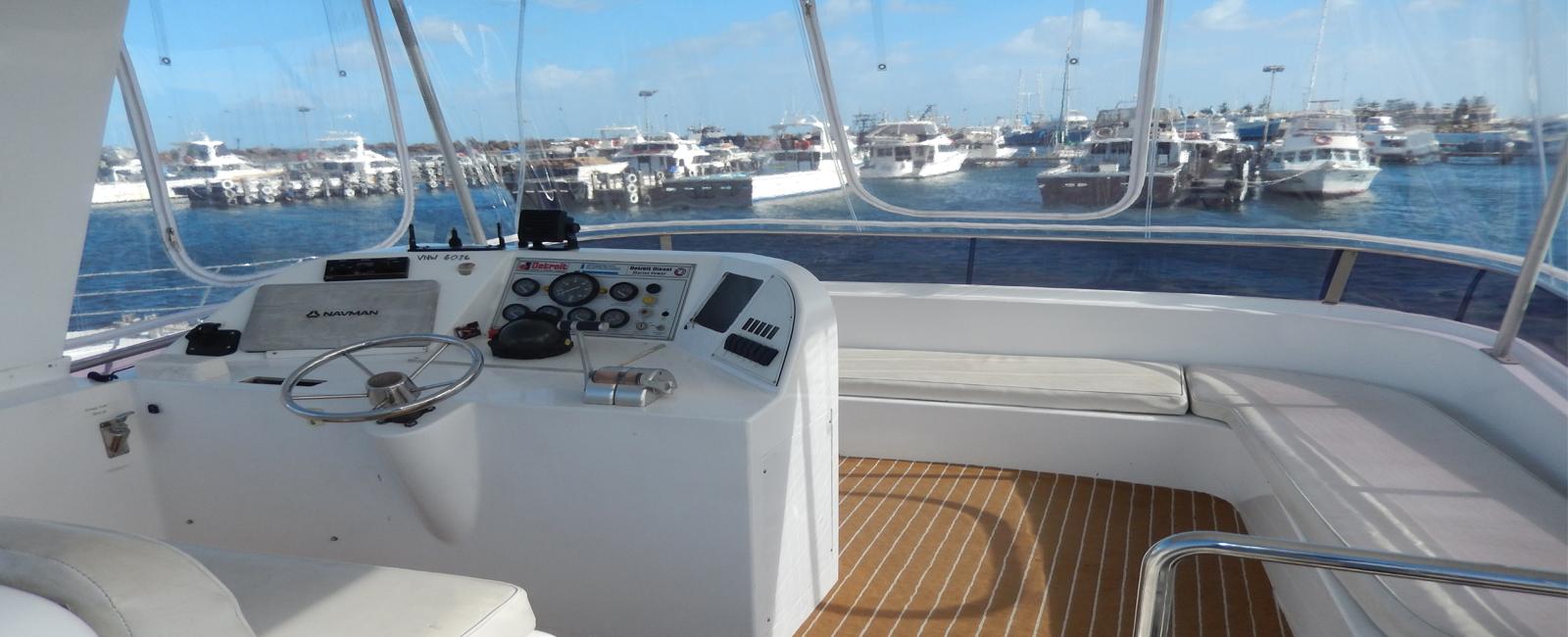 AQUARIUS-boat-charters-Perth-upper-deck-bridge