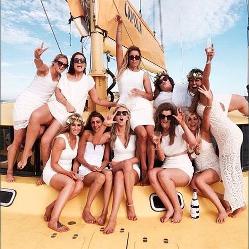 CAPELLA hens party sailing charter