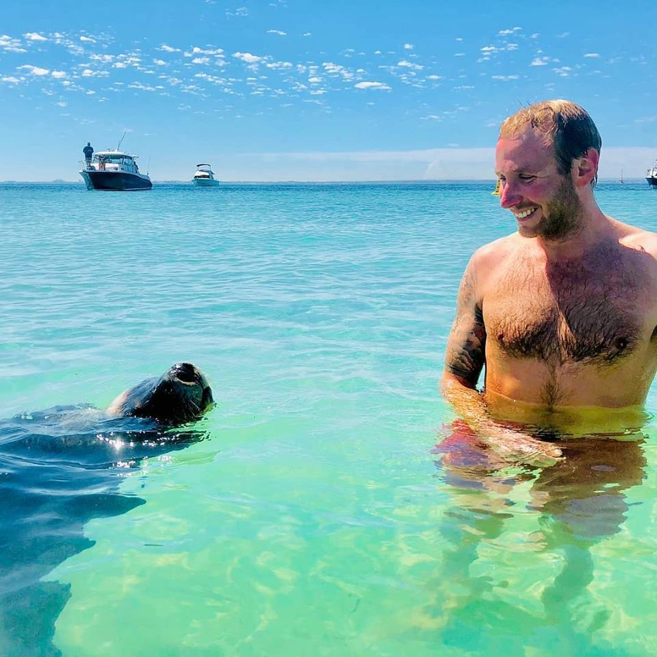CAPELLA man in water seal