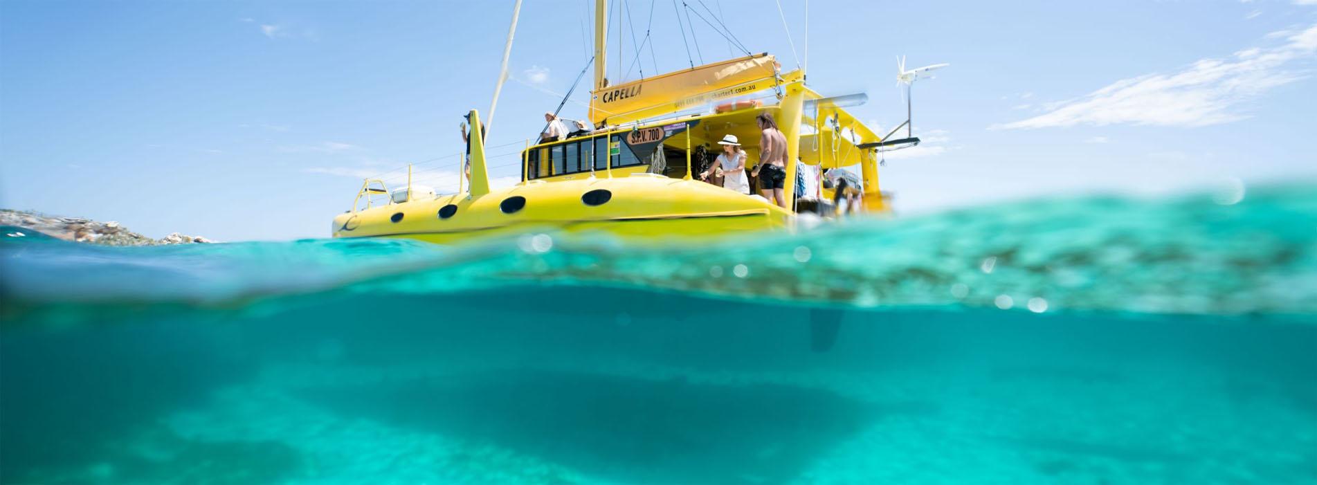 CARNAC ISLAND HALF DAY ECO SAIL TOUR PERTH FREMANTLE