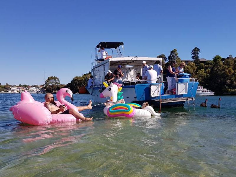 CHIQUITA boat charters swan river floaties
