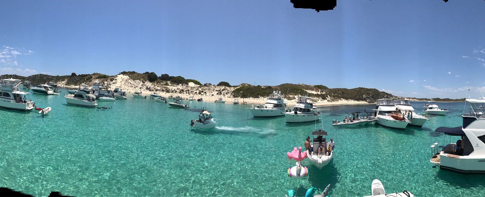 DARLING ISABELLE-boat-charter-hire-panormic-shot-rottnest-island
