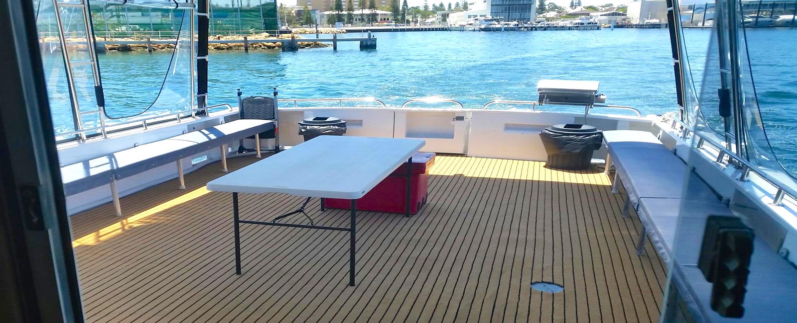 DARLING ISABELLE-boat-charter-hire-perth-wa-back-deck-