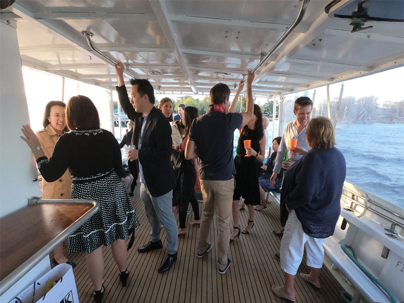 EQUADOR Surprise birthday party Swan River charter