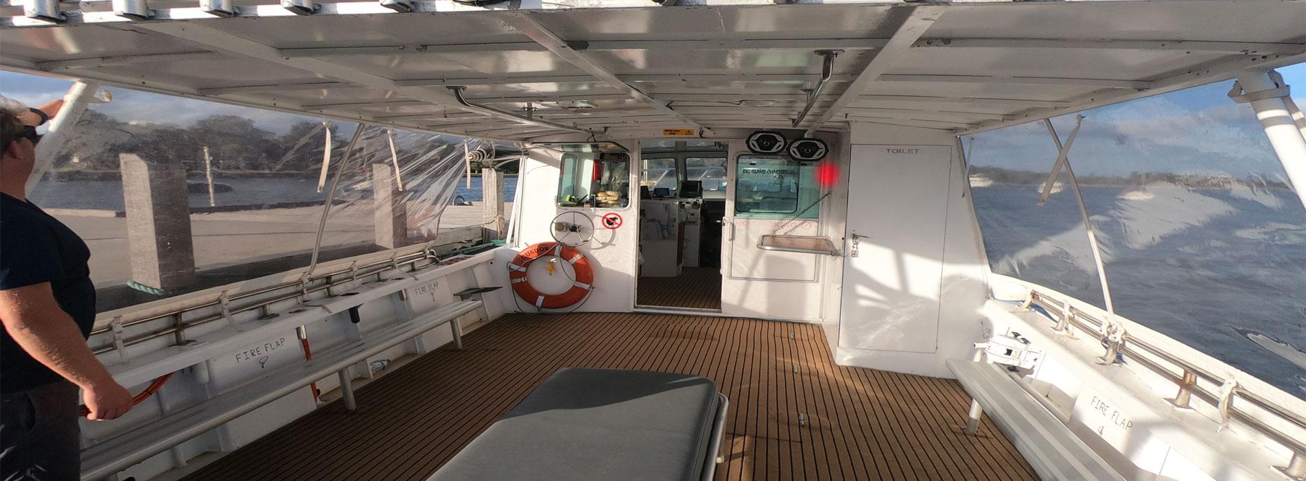 EQUADOR-boat-charters-perth-wa-deck-to-cabin-view