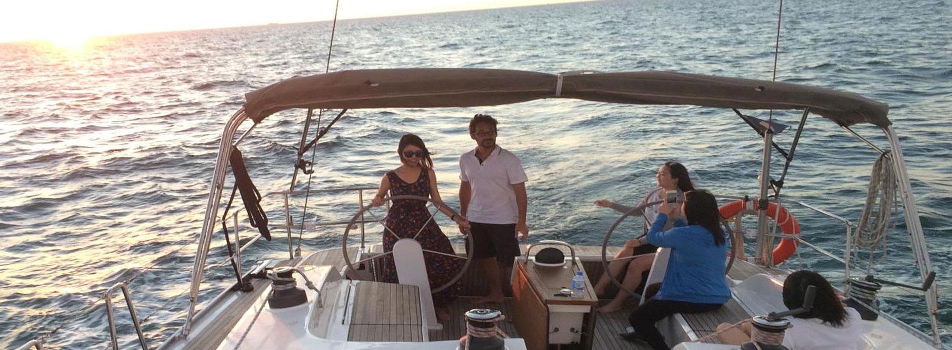 JAZZIA helm boat charters perth wa