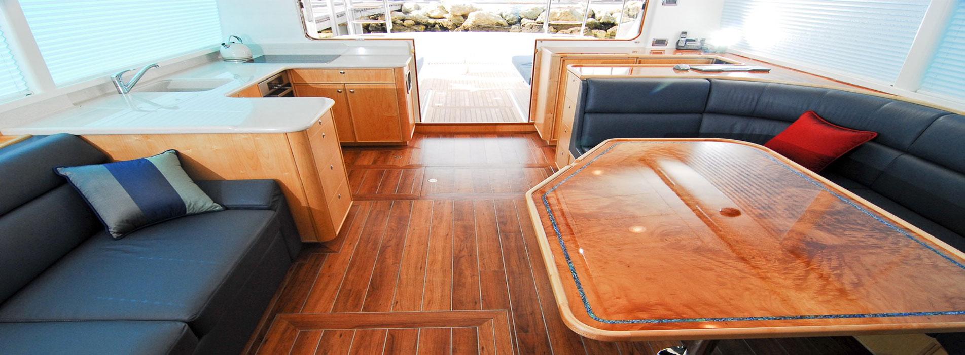 JUDE-INTERIOR-cabin-boat-charters-perth-wa