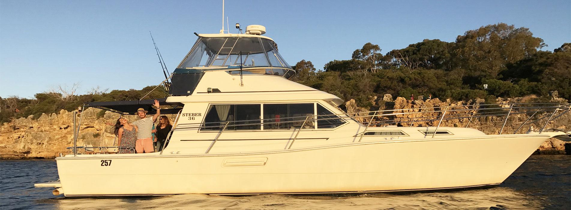 MOONSHINE-II-boat-charter-hire-Perth-WA-Swan-River-Rottnest-Island