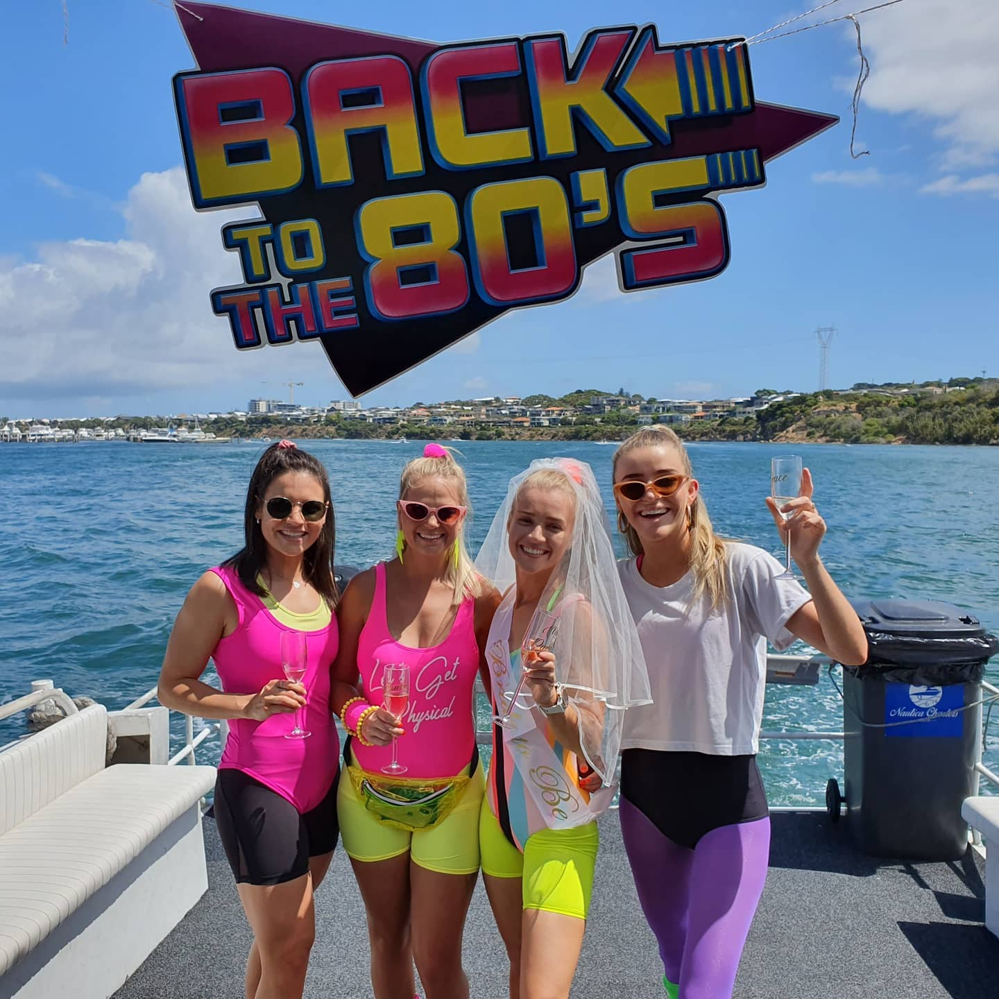 NATUICA boat charters 80s girls