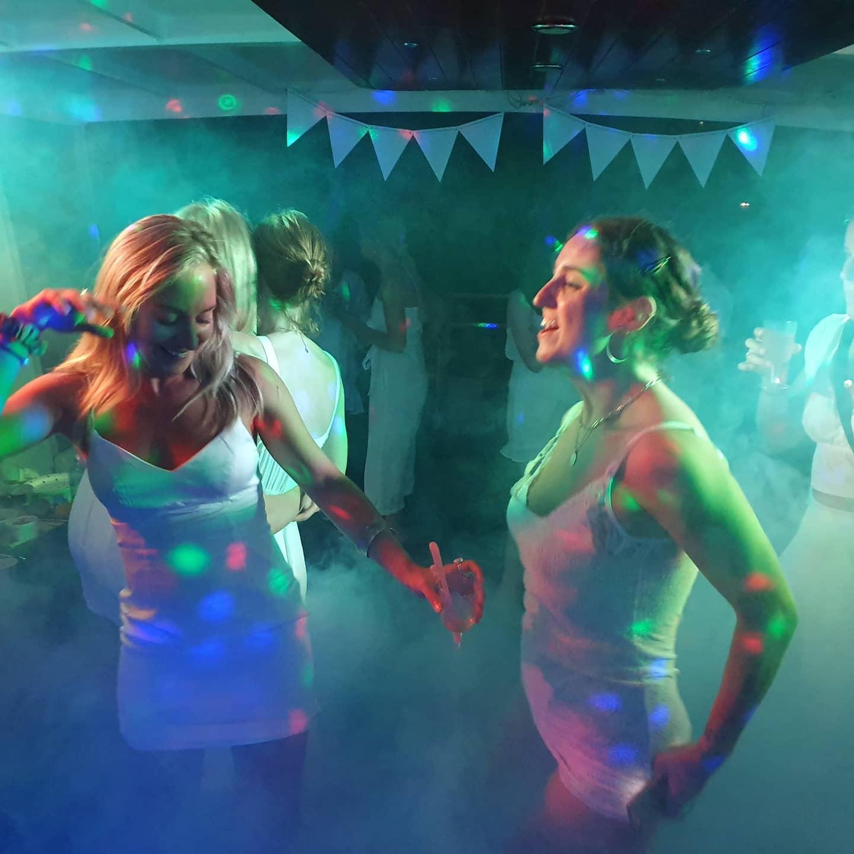 NAUTICA boat charters girls dancing
