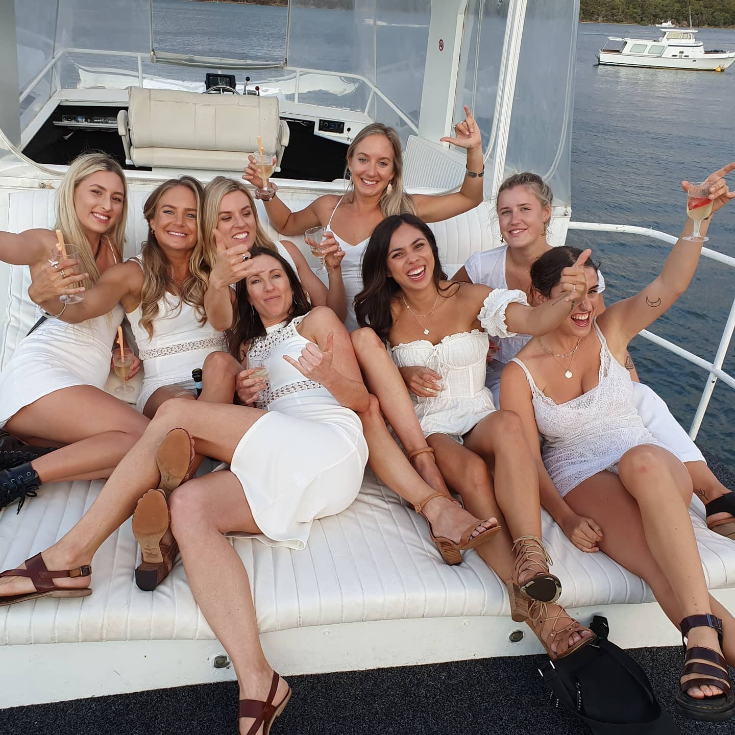 NAUTICA boat charters hens party
