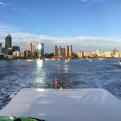PIA REBECCA stern view city Perth