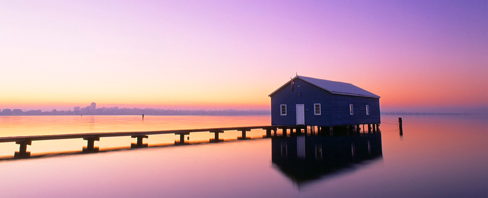 SWAN RIVER boat house