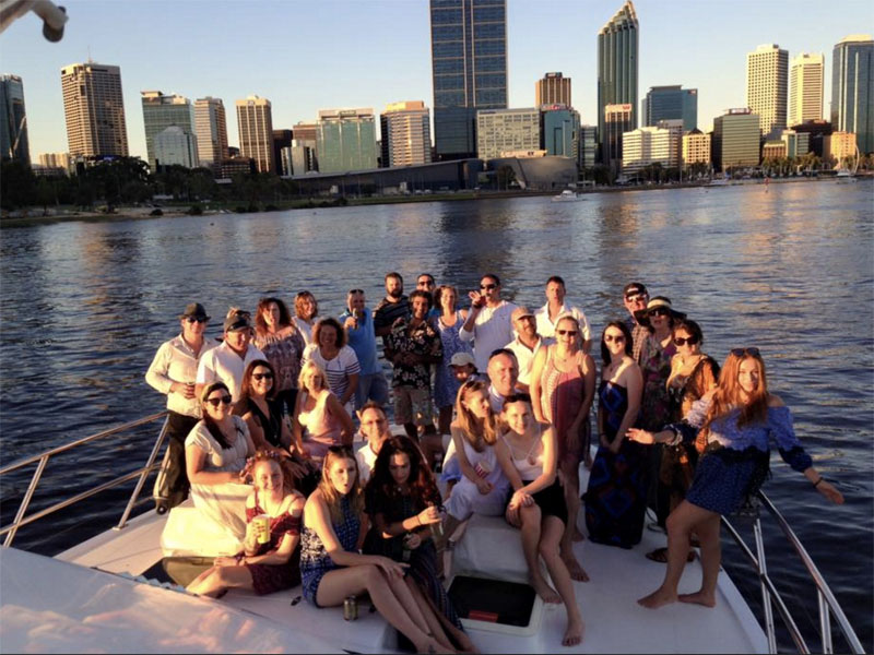 TRADEWINDS III perth boat chaters people