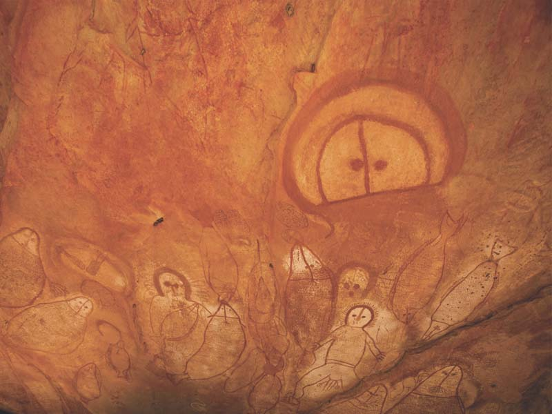 ABORIGINAL TOURS - ART cave paintings Kimberley