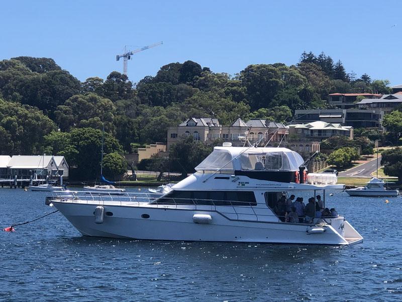 ALEGRIA boat charter perth mosman bay