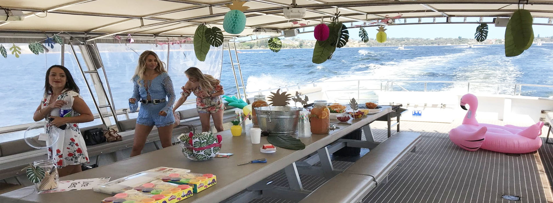 AUSSIE WARRIOR girls tropical party them