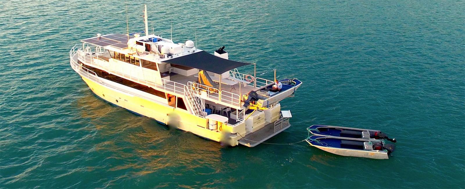 KIMBERLEY-PEARL-aerial-view-Kimberley-cruises