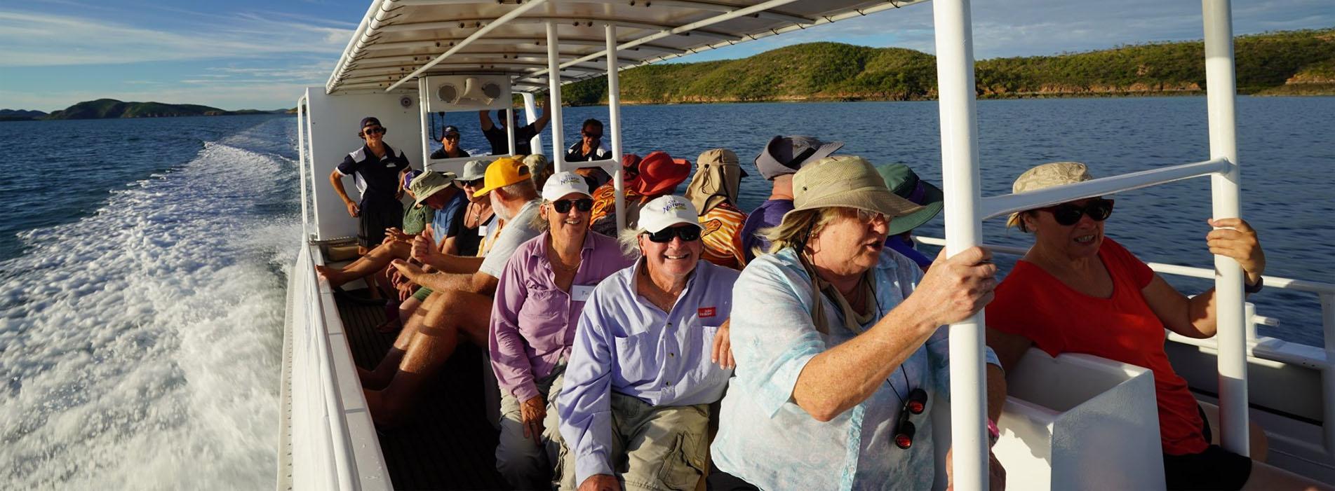 ODYSSEY kimberley cruises Homer tender vessel