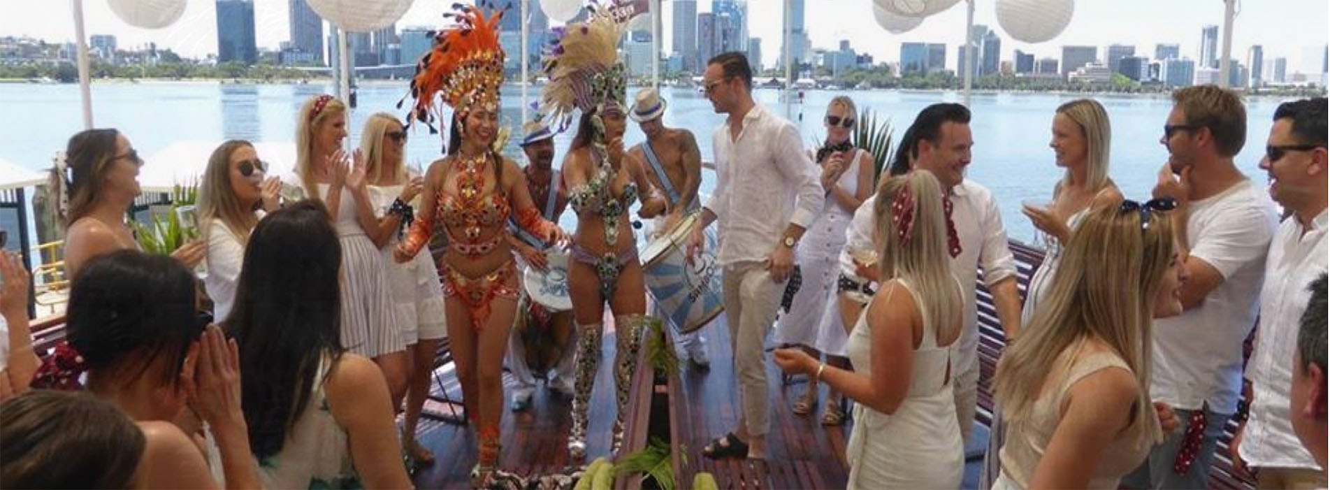 PADDLESHIP DECOY party Brazilian dancers Perth WA