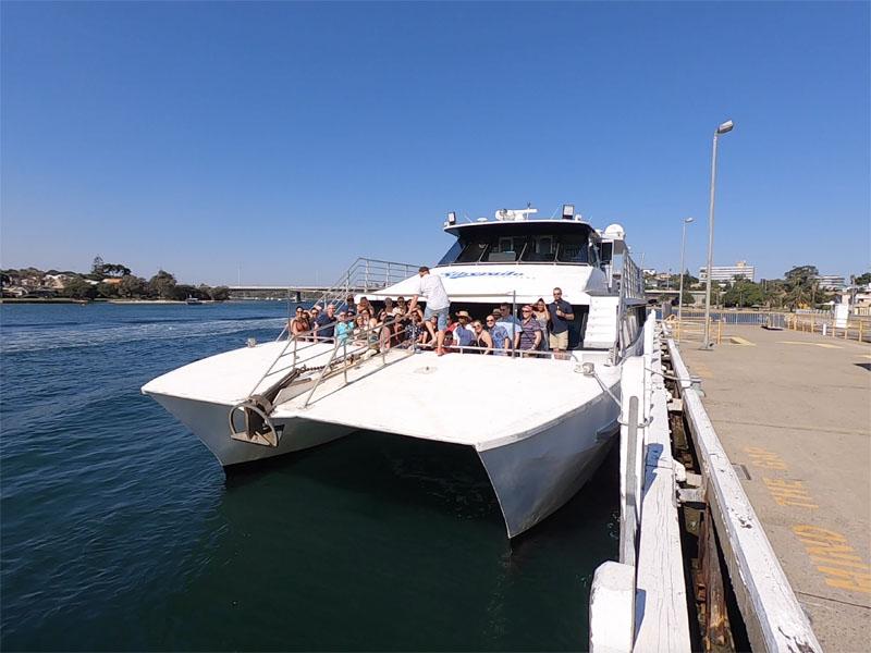 SILVERADO boat charters Fremantle Swan River East Street jetty