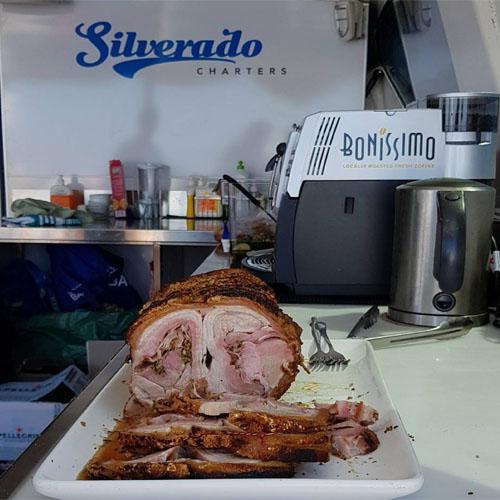 SILVERADO lamb roast charters Perth was