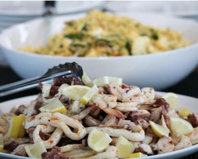Kimberley Pearl seafood salad