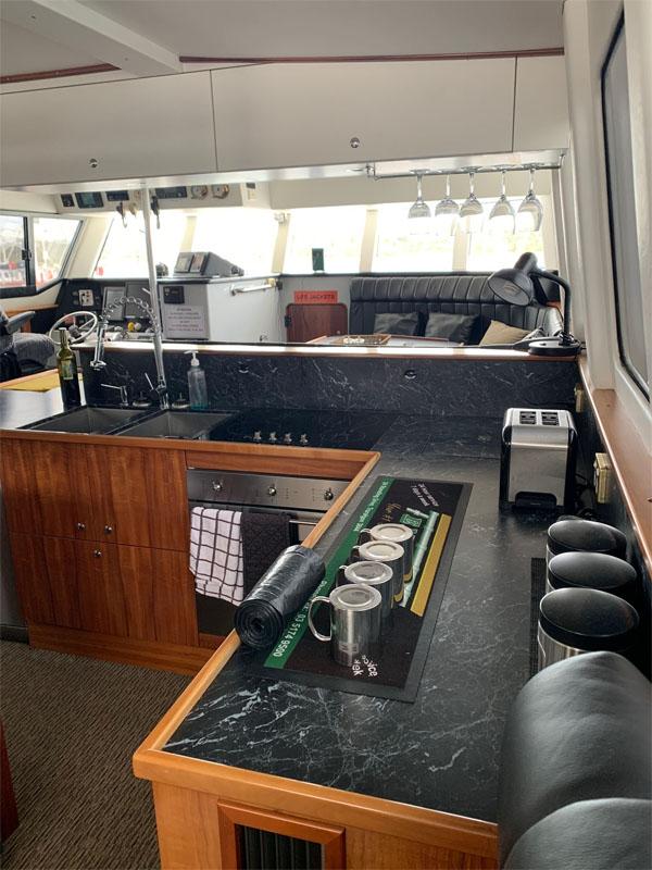 TWO SEAS interior shot kitchen