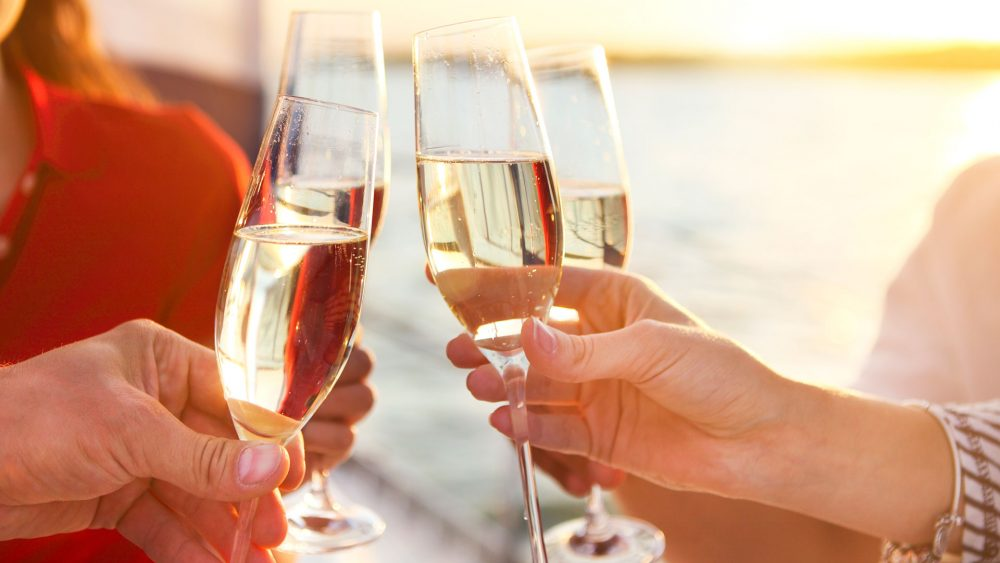 PIGLET champagne sunset
