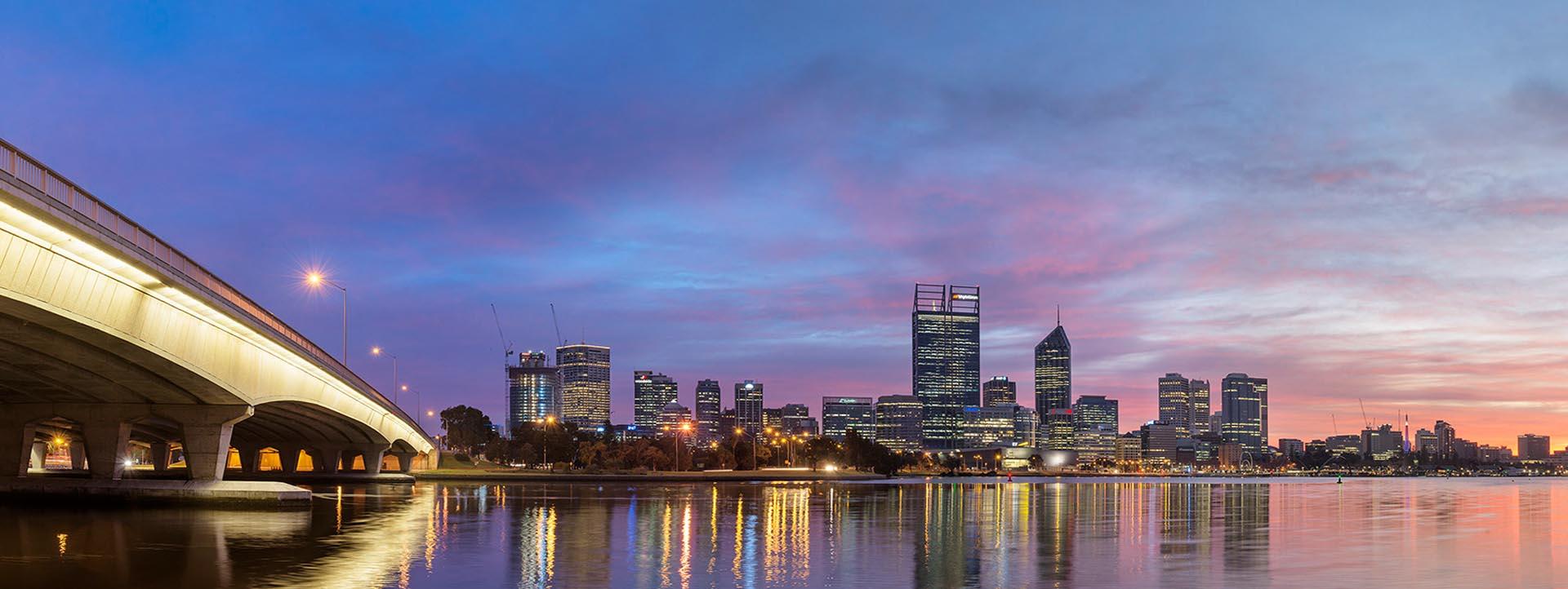 Perth city transfer cruises